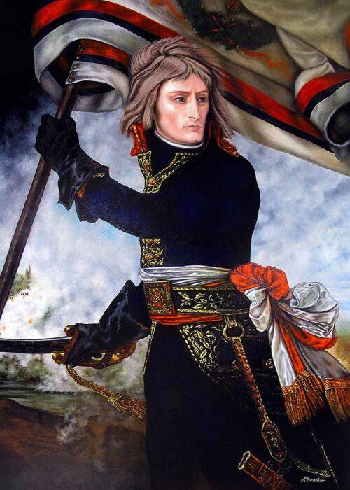 Bonaparte au Pont d'Arcole ⚔️